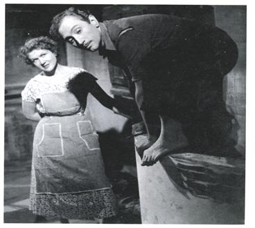 Josefina de la Torre y Gabriel Llopart .1954